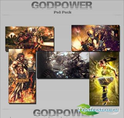 PSD Исходники - Банеры. Графика от GFX-GodPower