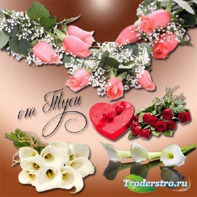 Клипарт – Дарите женщинам цветы необычайной красоты - 2