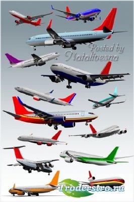 Клипарт для творчества  –  Самолеты