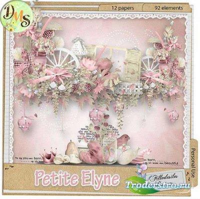 Нежный цветочный скрап-набор - Миниатюрная Элейн. Scrap - Petite Elyne