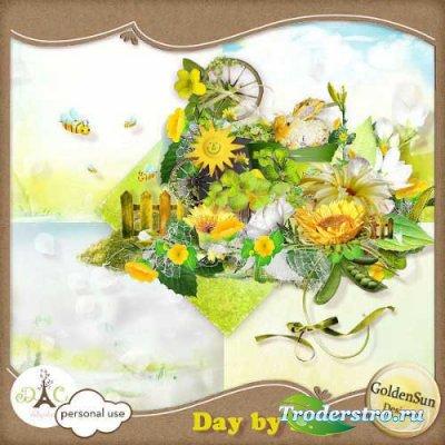Солнечный летний скрап - День за днем