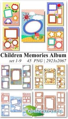 Рамки для Adobe Photoshop - Память о Детстве
