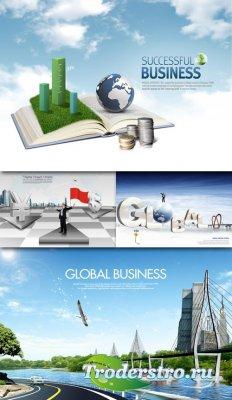 PSD Исходники - Сфера Глобального Бизнеса