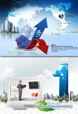 PSD Исходники - Сфера Бизнеса