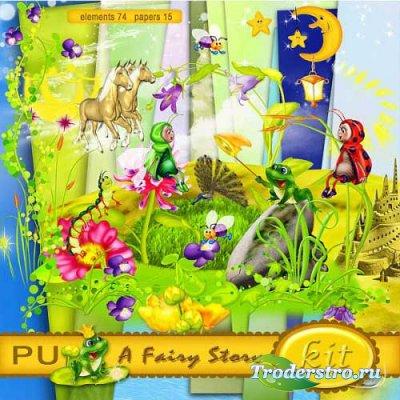 Волшебный детский скрап-набор - Сказка. Scrap - A fairy story