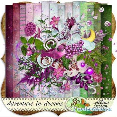 Скрап-набор - Приключение в Мечтах. Scrap - Adventure in Dreams