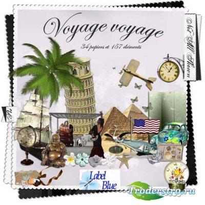 Скрап-набор - Путешествие,путешествия. Sckap - Voyage voyage