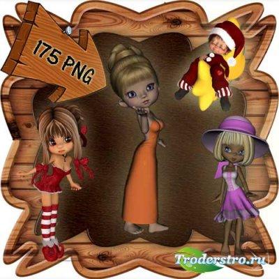 Скрап-набор - Мир фей и волшебства 2. Scrap - World of fairies and magics 2