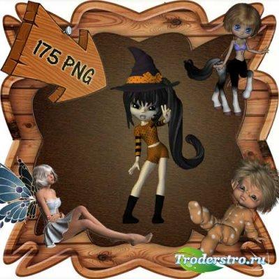 Скрап-набор - Мир фей и волшебства 3. Scrap - World of fairies and magics 3