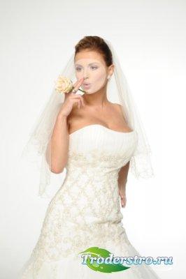 Шаблон для фото № 2 Очаровательная невеста