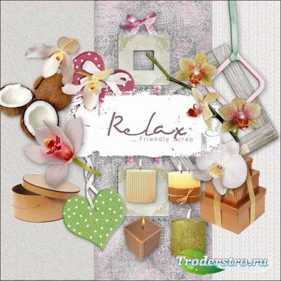 Скрап набор - Релакс 2