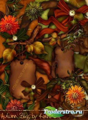 Осенний скрап-набор - Осеннее cчастье. Scrap - Autumn Bliss