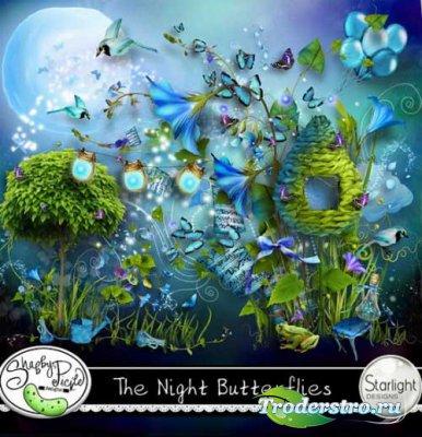 Сказочный скрап-набор - Ночные бабочки. Scrap - The Night Butterflies