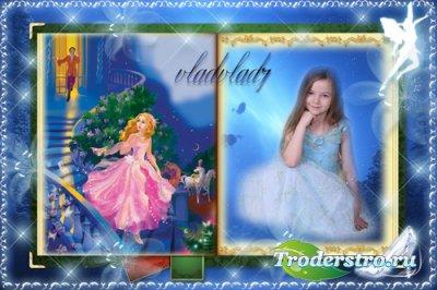 Детская сказочная рамка - Золушка