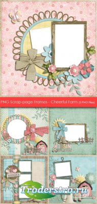 PNG Скрап-странички (Рамки) - Веселая Ферма