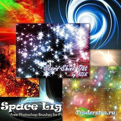 Звезды млечного пути (кисти для фотошоп)
