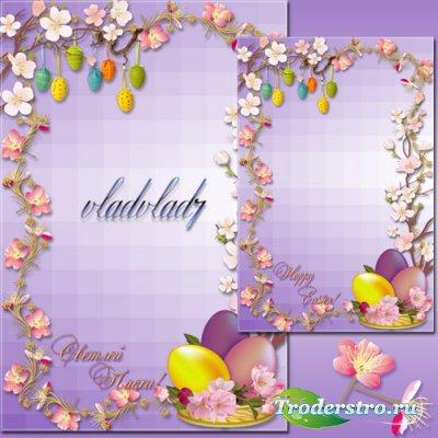 Пасхальная Рамка - Яблоневый цвет