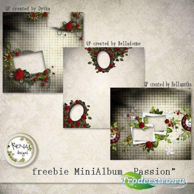 3 Скрап-странички - Романтическое признание