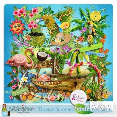 Скрап-набор - Тропическое лето. Scrap - Tropical Summer