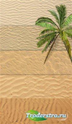 Пять видов песчаных текстур