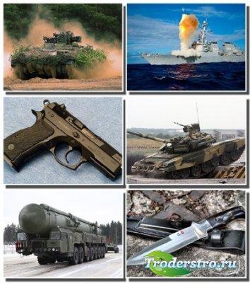 Армия и военная техника на обоях для монитора (Часть 1)