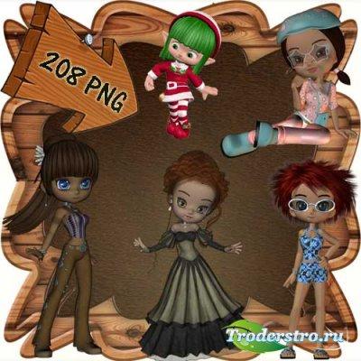 Скрап-набор - Мир фей и волшебства 11. Scrap - World of fairies and magics  ...