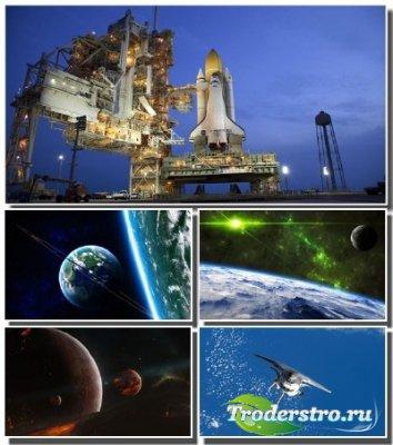 Огромные просторы вселенной на обоях для монитора (Часть 1)