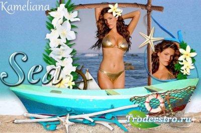 Рамка для Photoshop - Морское путешествие