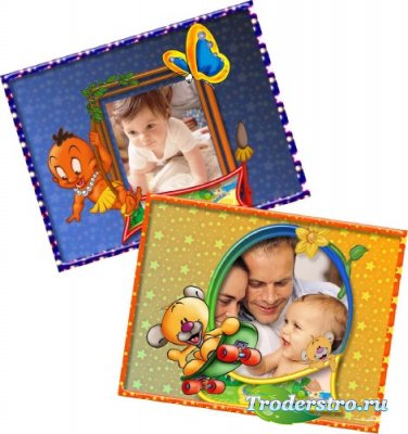 Рамки для фотошоп-Для детей