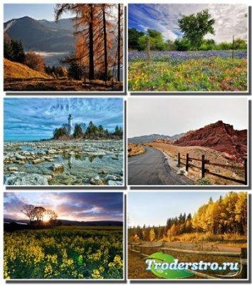 60 Удивительных пейзажей природы (часть 53)
