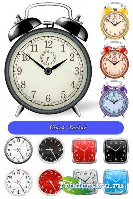 Будильники, часы (Вектор)