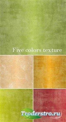 Высококачественные текстуры пяти оттенков