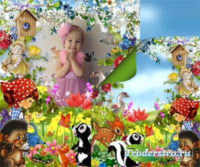 Детская фоторамка - Краски лета