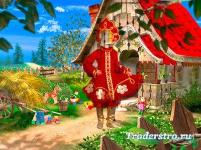 Шаблон для фотошопа - Русская красавица из сказки