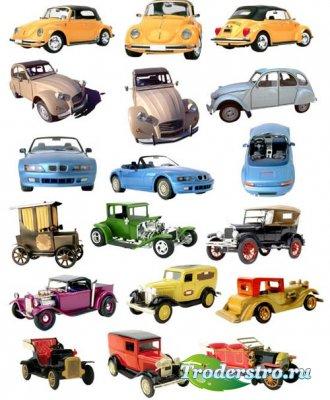 Клипарт - Старинные автомобили