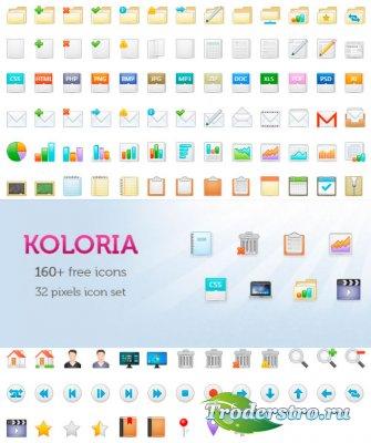 Иконки типы файлов - Koloria