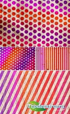 Сборник винтажных текстур в американских колорах