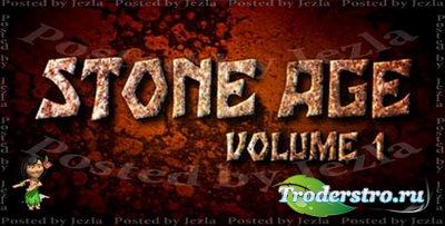 Набор текстур природного камня - Stone Age
