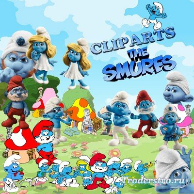 Cliparts the smurfs - Клипарт смурфы PNG