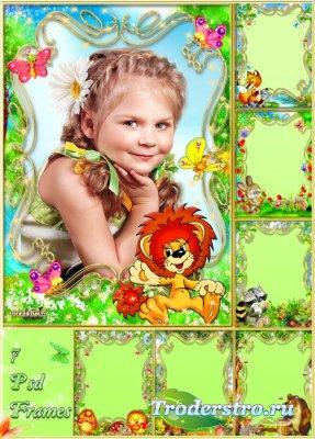 Детские рамочки  - Герои детских мультфильмов