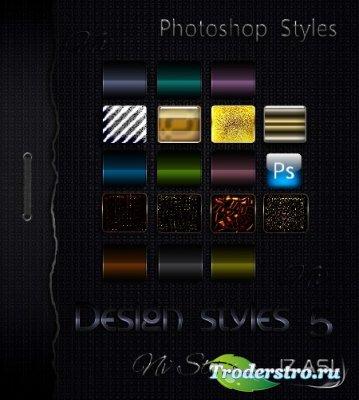 Стили для Photoshop 5 – Цветной Дизайн