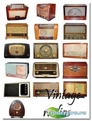 Старые радиоприемники (коллекция PSD)