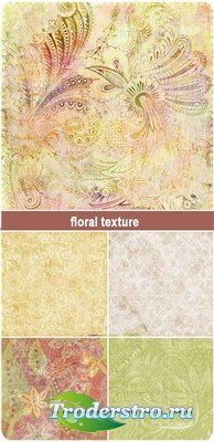 Винтажные цветочные текстуры