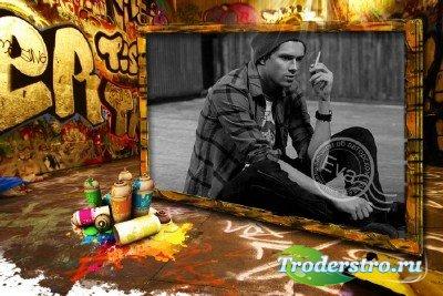 Рамочка для фото - Граффити