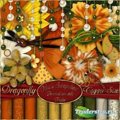 Скрап набор Dragonfly - Стрекоза