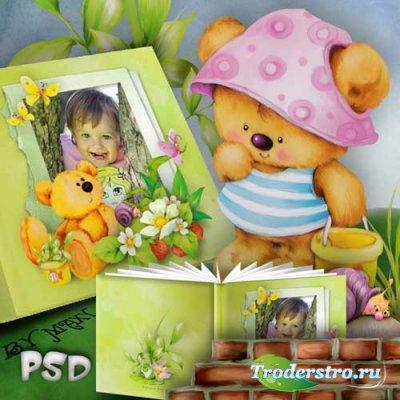 Шаблоны детской фотокниги - Книжка с картинками