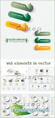 Вэб элементы в векторе