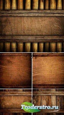 HQ бамбуковые и деревянные фоны