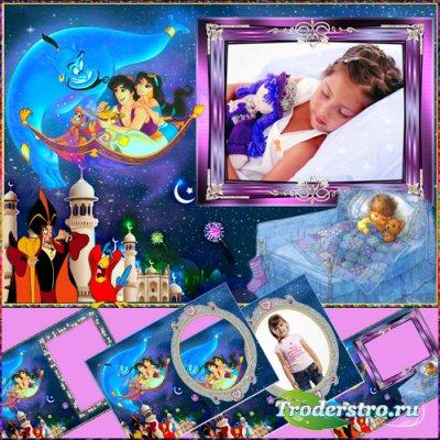 Фоторамка детская - В мире снов