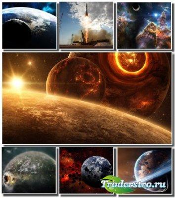 Огромные просторы вселенной на обоях для монитора (Часть 4)